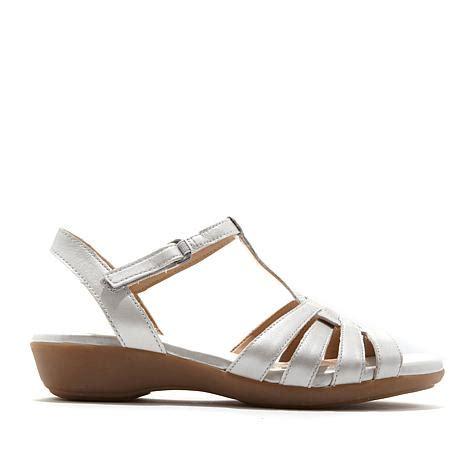 naturalizer comfort sandals naturalizer nanci leather comfort sandal 8521277 hsn