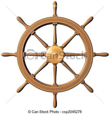 dessin roue bateau roue bateau roue traditionnel bateaux isol 233