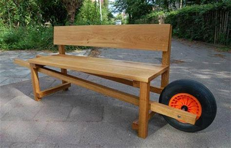 homemade wood bench 11 diy outdoor table and bench design diy to make