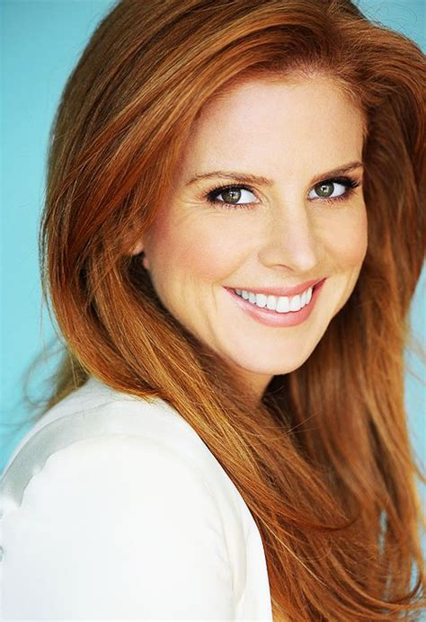 Which Hair Color Best Suits A Woman Of 58 | sarah rafferty sarah rafferty pinterest pink lips