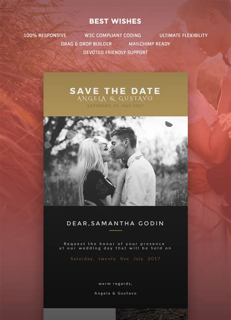 card emails templates wedding invitation card email template buy premium
