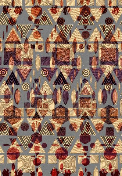 design background hipster pattern art print by youngandretired society6 image