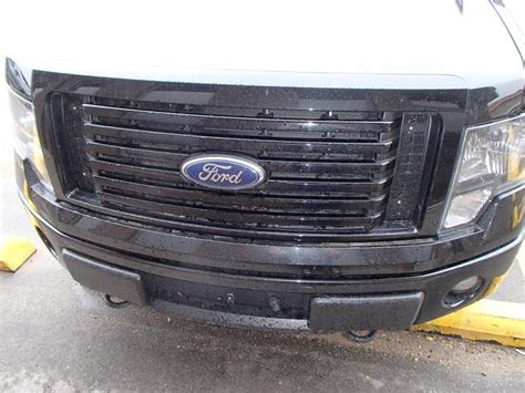 Black Cloud Rider black powder coated cloud rider grill inserts 2012 ford f