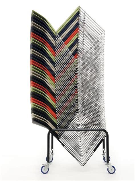 sedie pieghevoli con carrello carrelli per sedie impilabili o pieghevoli per conferenze