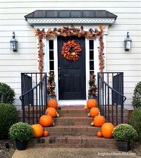 fall decorations for outside the home 68 best fall outdoor decorating ideas images on pinterest