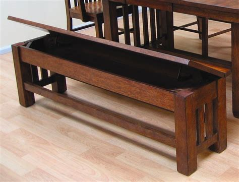 laurelhurst 60 quot mission oak storage bench from a america coleman furniture