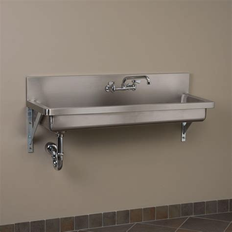 Stainless Steel Commercial Sinks by Stainless Steel Wall Mount Commercial Sink Stainless