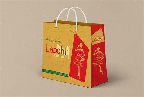 design your photo packaging bag design ahmedabad for labdhi fashion