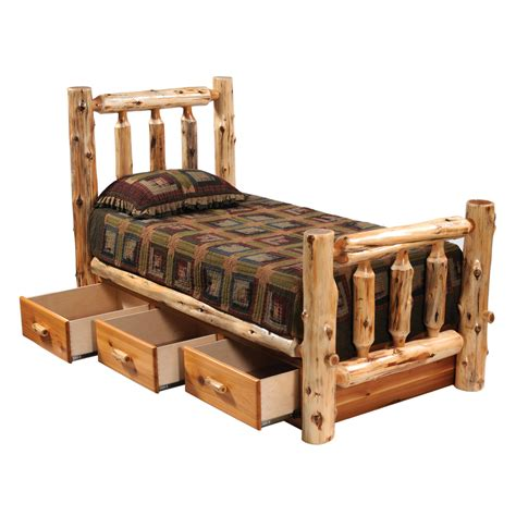 cedar beds cedar underbed 3 drawer dresser queen king