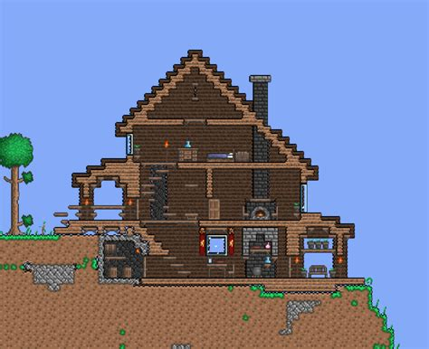 Terraria House Designs Memes House Layout Terraria