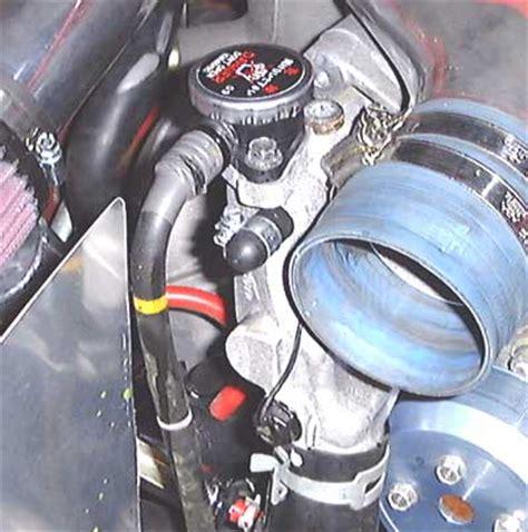 Uppertank Mazda Lantis coolant air separation tank