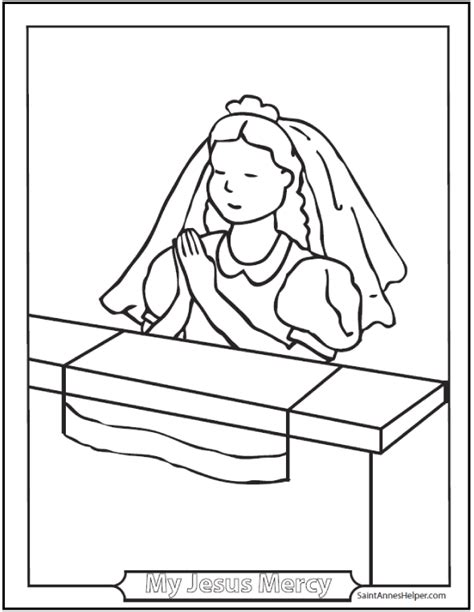 coloring page eucharist catholic prayers are easy to learn prayers videos