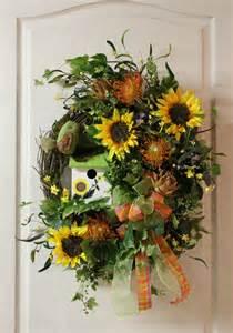Summer Wreaths For Front Door » Home Design 2017