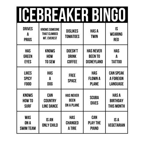 get to you bingo template breaker bingo card template best professional
