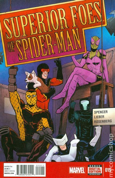 libro superior foes of spider man superior foes of spider man 2013 comic books