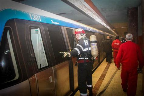 Subway Background Check Emergency Situations Inspectorate Checks Bucharest Subway