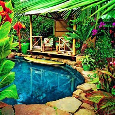 hawaiian themed backyard backyard pools backyards and pools on pinterest