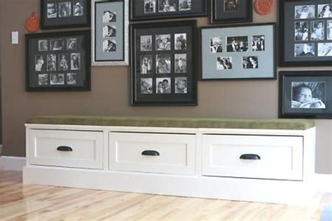 storage bench with drawers plans diy window bench seat with drawer storage outdoor