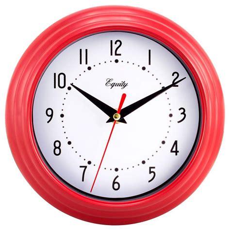 digital wall clocks la crosse technology atomic digital wall clock with temp