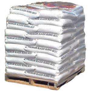 home depot wood pellets premium wood pellet fuel 40 lb bag 50 count 278448 at