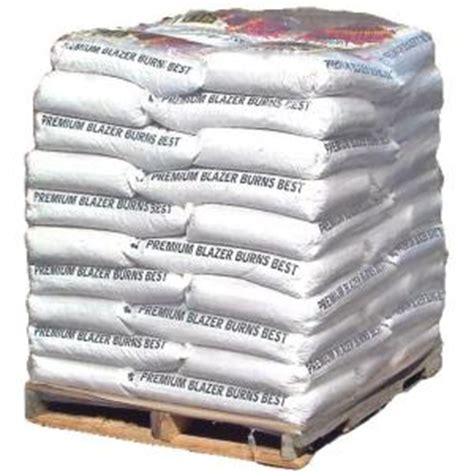 premium wood pellet fuel 40 lb bag 50 count 278448 at