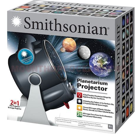 Toys Projectors 4 In 1 room planetarium dual projector smithsonian space planet astronomy gift ebay