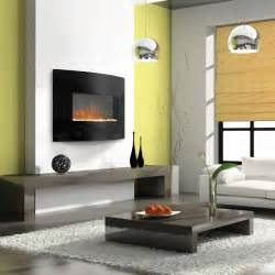 wall mount electric fireplace with heater motiq