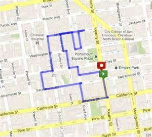 Chinatown San Francisco Map by Chinatown San Francisco Map Walking