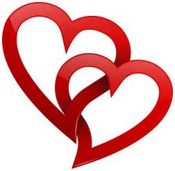 red hearts png clipart clipart