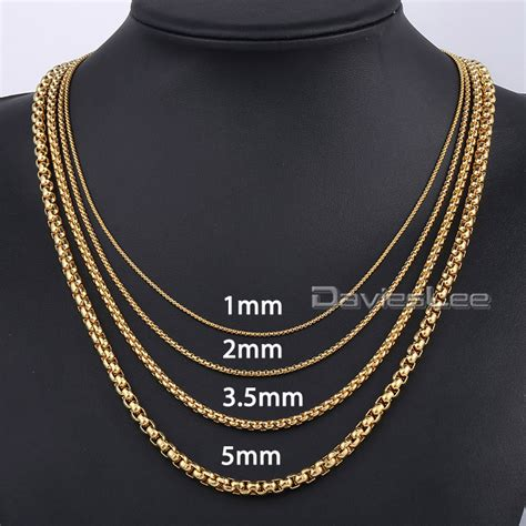 Supplier Miami Top By Qaisara 1 aliexpress buy 1 3 5 5 mm gold color box link