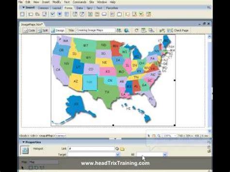 dreamweaver tutorial image map dreamweaver training tutorial creating image maps