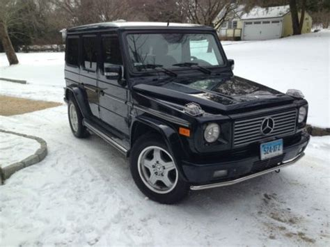 how does cars work 2005 mercedes benz g class engine control sell used 2005 mercedes benz g55 amg base sport utility 4 door 5 5l in greenwich connecticut