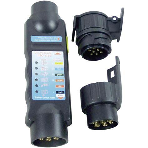 trailer light socket tester from conrad electronic uk