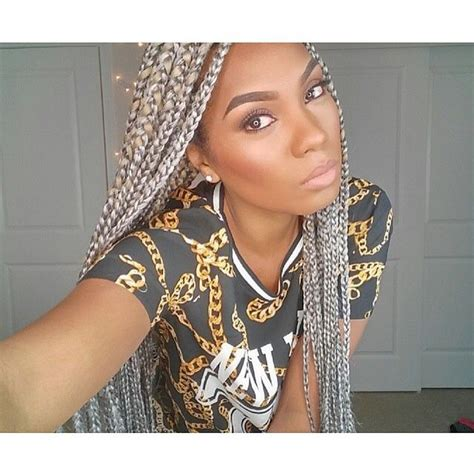 senegalese twists for gray hair 19 best images about gray hair on pinterest grey ombre