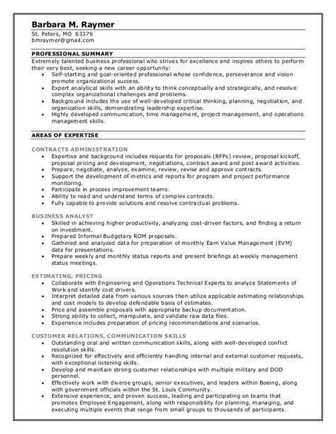 barbara raymer resume