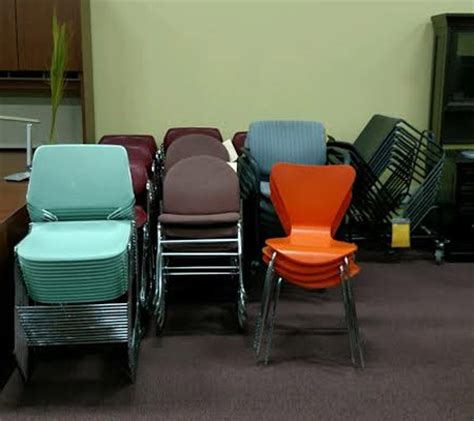 markdowns office furniture pre owned stack chairs downs