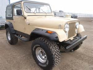 Jeep Cj7 For Sale By Owner 1978 Jeep Cj7 1281 County Road 27 Brighton Co 80603