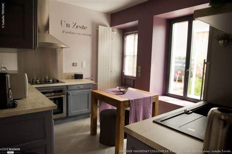 cuisine parme cuisine gris parme couleur de vie coaching d 233 co c 244 t 233 maison