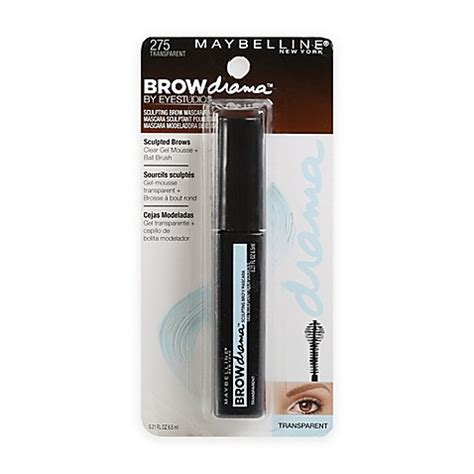 Maskara Transparan Maybelline maybelline 174 eye studio 174 brow drama sculpting brow mascara