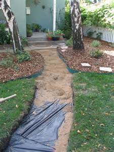 laying a slate patio solve the puzzle diy flagstone walkway tutorial for