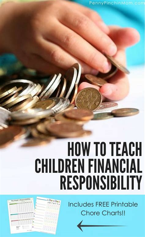 8 Tips On Teaching Your Financial Responsibility by Best 25 Responsibility Chart Ideas On Chore