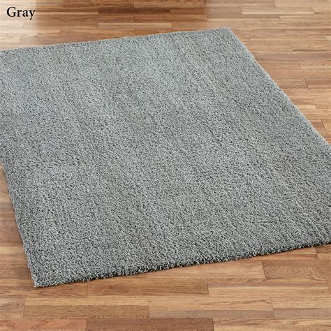 Shag Area Rugs Bliss Soft Shag Area Rugs