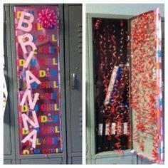 How Should I Decorate My Locker Birthday Locker Ideas On Pinterest Lockers Lollipops