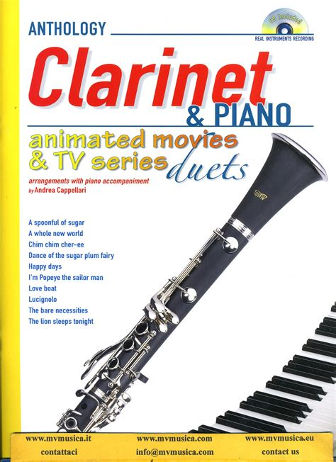 il clarinetto testo spartiti clarinetto mv musica e vita