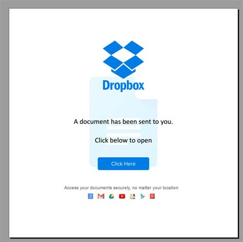 dropbox email dropbox fake email pdf email scam alert