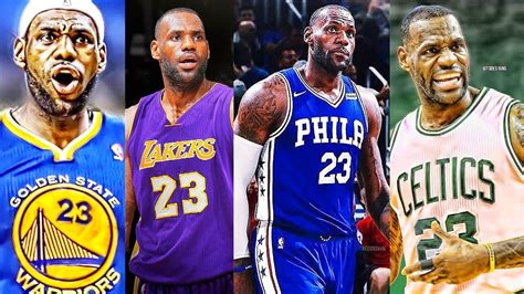 Top Free Agents Mba by Lebron Top 10 Teams He Should Join During Nba Free