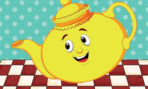 i m a lyrics i m a tea pot nursery rhyme with lyrics animation rhymes