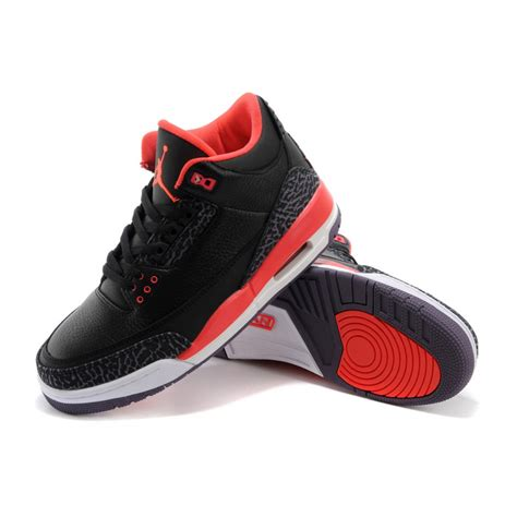 Retro Black by Air 3 Retro Black Bright Crimson Purple