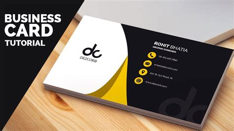 how to make business cards on photoshop cs6 business card design in photoshop cs6 tutorial learn