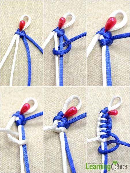 nudos pulseras cuero paso a paso pulsera de nudo plano paso a paso pulseras de nudos